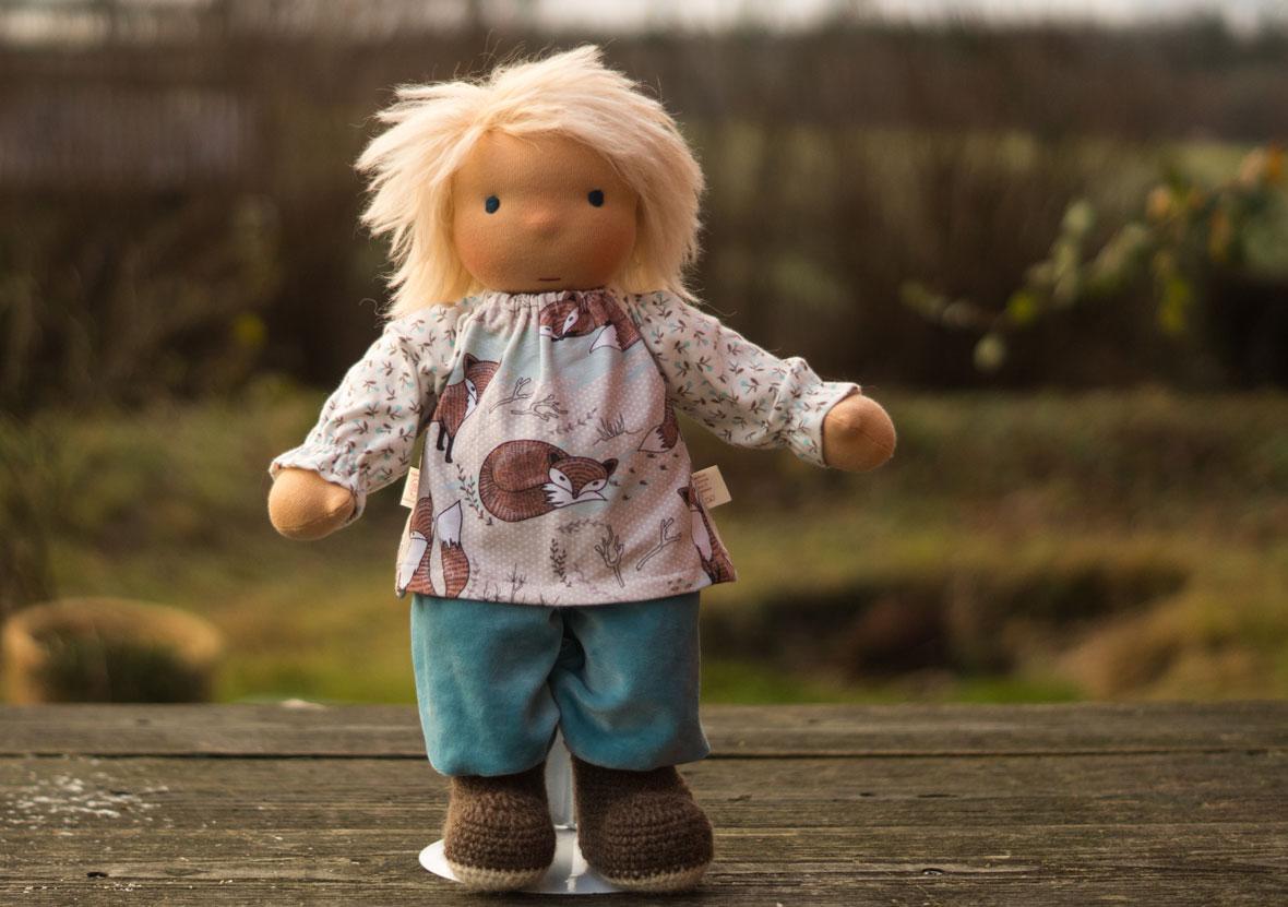 ein wandelbares Puppenkind ist auch ein guter Plan