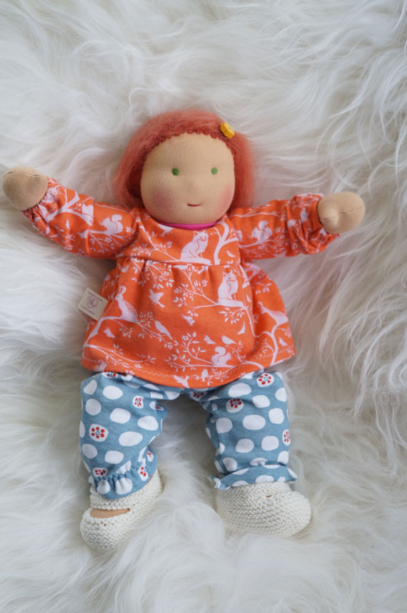 Eine Babypuppe - vielleicht ein guter Plan