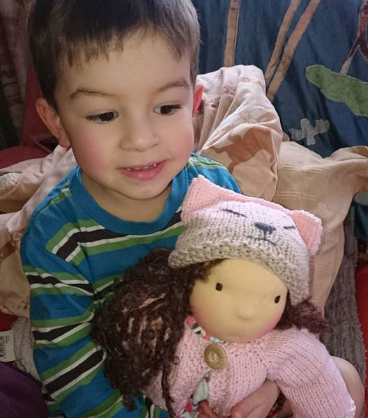 Herzenkind nach Wunsch PuppenMitmacherei 2016