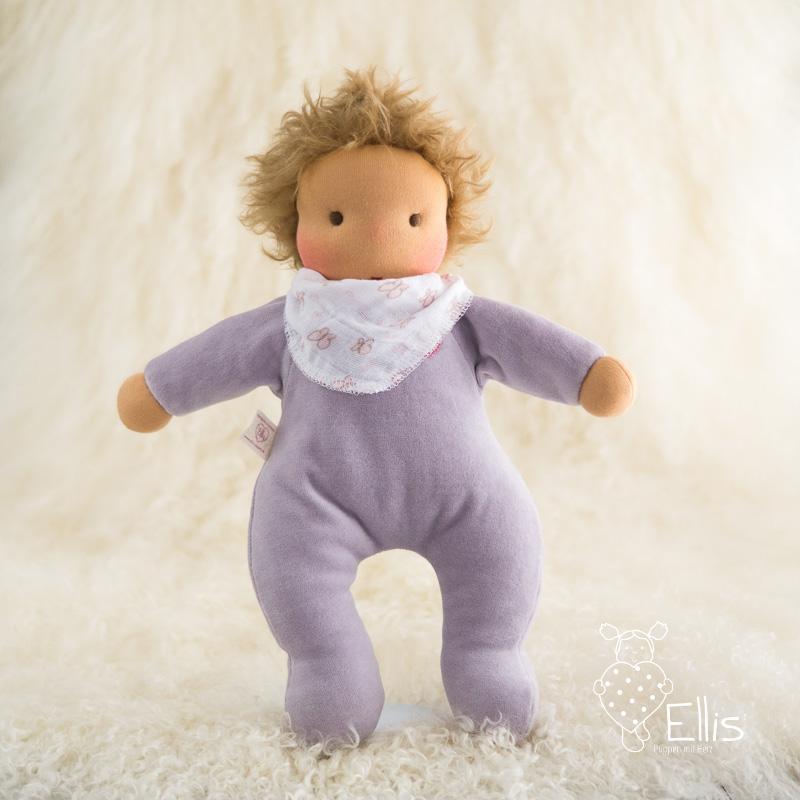Puppe-Schmuseherz-zartlila